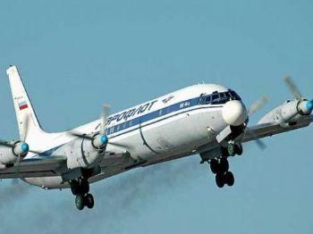 Avião do modelo IL-18 caiu no distrito de Bulunskij devido às más condições climática. Foto: Reprodução/Avia.pro
