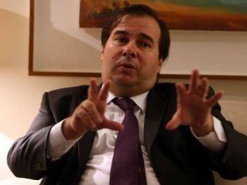 Andre Dusek/Estadão O presidente da Câmara dos Deputados, Rodrigo Maia, em entrevista exclusiva ao Estado.