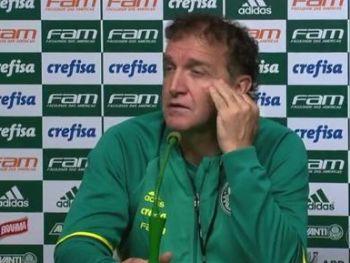 Técnico Cuca não comanda mais o Palmeiras - Foto: Reprodução
