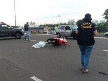 José Aparecido Rodrigues Carvalho conduzia Honda Biz quando foi executado - Foto: Gerson Oliveira/Correio do Estado