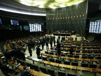 Spb protestos, texto foi aprovado por 231 a favor, 188 contra e 8 abstenções.Marcelo Camargo/Agência Brasi