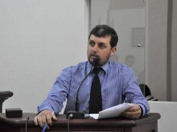 Vereador Eduardo Oliveira (PMDB). Foto: Assessoria