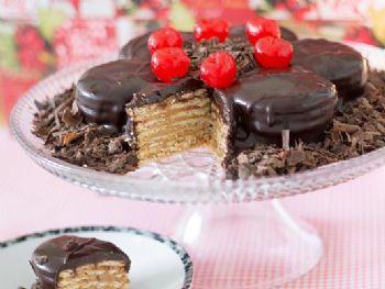 Torta de Alfajor - Foto: Sal de Flor