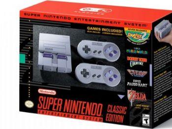Super Nintendo Classic Edition é nova versão do console da Nintendo e vem com 21 jogos na memória - Foto: Divulgação