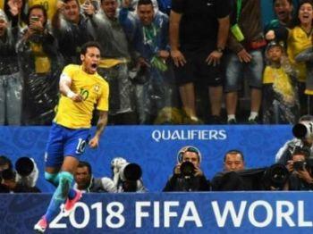 Jogo terminou em 3 x 0 para o Brasil, ontem à noite - Foto: LANCE!