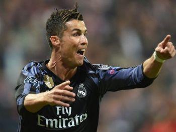 Cristiano Ronaldo em comemoração no jogo contra o Bayern - Foto: Reprodução/Globoesporte