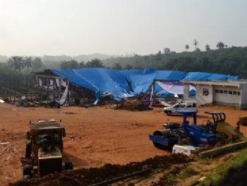 Causas do desabamento serão investigadas / Stringer/Reuters