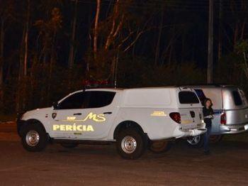 A perícia esteve no local para exames de praxe - Foto: Site Porã News