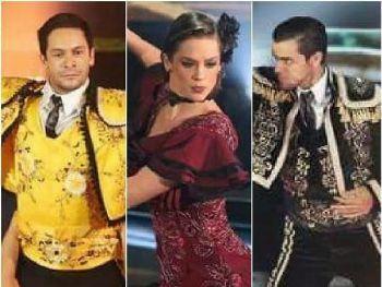 Rainer Cadete (à esquerda), Sophia Abrahão e Felipe Simas (à direita) estão na final imagem: Reprodução/Carol Carminha/GShow