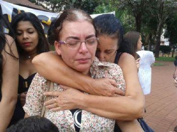 Marasilva se emociona ao lembrar do pedido do pedido do filho - Foto: Gerson Oliveira/Correio do Estado