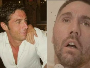 Dj Fabo, antes e depois do acidente / Reprodução