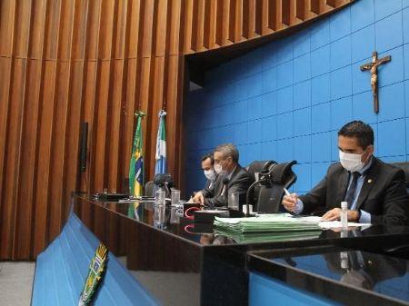 Sessões ocorrem de forma remota há mais de um mês - Wagner Guimarães/ALEMS