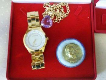 Várias peças de joias foram encontradas. Foto: Divulgação PF
