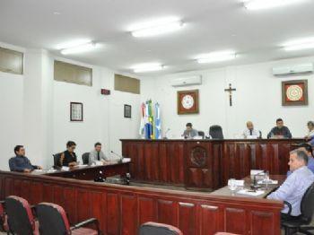 Os vereadores no sessão desta terça-feira (28), em dia histórico para população do Bocajá, pela aprovação do projeto. Foto: Assessoria