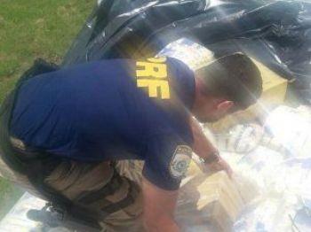 Droga totalizou quase 1.5 t - Foto: Divulgação DOF
