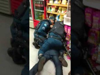 Ação dos militares foi gravada em vídeo - Foto: Reprodução/Vídeo