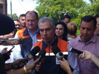 Governador já destinou verba para as cidades afetadas - Foto: Valdenir Rezende/Correio do Estado