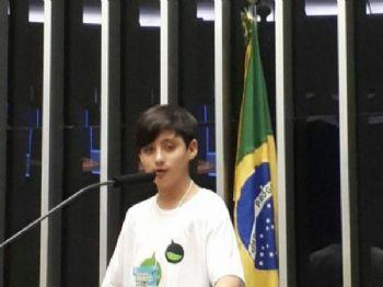 Caio apresentou o seu projeto na sexta-feira Foto: Divulgação