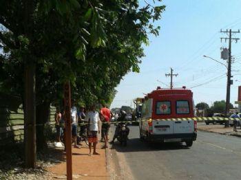 Idosa morreu atropelada - Foto: Paulo Ribas/Correio do Estado
