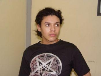 Dyonathan Celestrino, quando foi preso. - Foto: Reprodução