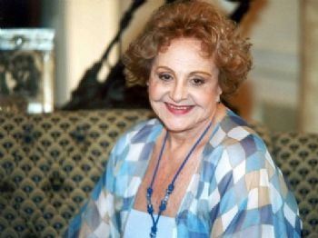 Na novela 'O cravo e a rosa', atriz Eva Todor viveu Josefina Lacerda de Moura, uma sogra rabugenta que acobertava as armações da filha e procurava defeitos no genro - Foto: Reprodução/GloboNews