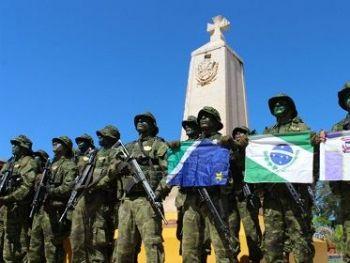 Policiais que participaram do curso de Operador de Fronteira - Foto: Divulgação