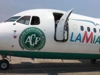 Avião da empresa boliviana Lamia, fretado pela Chapecoense, teria caído por falta de combustível Divulgação/ Cleberson Silva/ Chapecoense