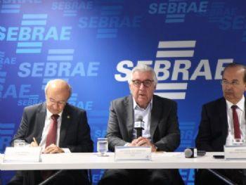 Afif reunido com políticos e representantes de instituições de classe - Foto: Sebrae Nacional/Divulgação