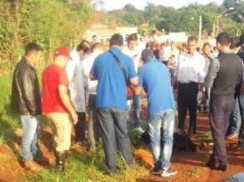 Vítima foi encontrada morta perto da rodoviária de Pedro Juan Caballero. - Foto: Porã News