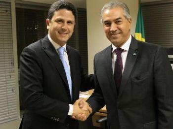 Bruno Araújo com o governador Reinaldo Azambuja - Foto: Divulgação
