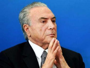O presidente Michel Temer (PMDB) Foto: Evaristo Sá