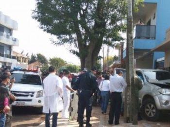 Pistoleiros fecharam homem no centro e assassinaram- Foto: Porã News