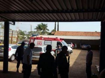 Vítima sofreu atentado no trabalho - Foto: Porã News