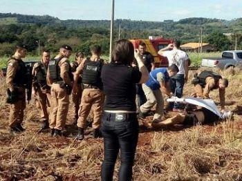 Entre os assaltantes que participaram do crime no Paraguai, três foram mortos no Brasil - Foto: Divulgação/Twitter