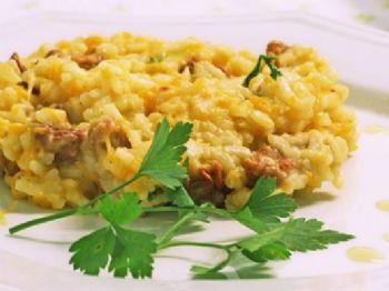 Risoto de frango é uma ótima receita para seu almoço - Foto: Divulgação