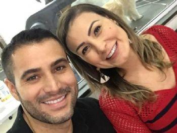Andressa Urach e Tiago Costa. Foto: Reprodução/Instagram