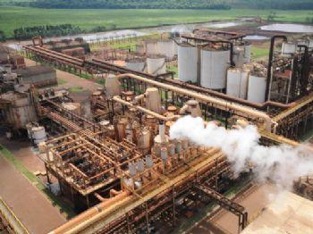 A usina teve a falência decretada em junho deste ano - Foto: ARQUIVO/CORREIO DO ESTADO
