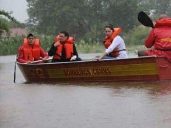 Mais de 300 pessoas tiveram casas inundadas - Foto: Divulgação