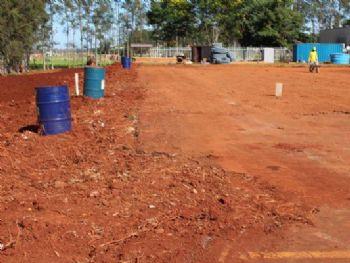Construção da Unidade da Mulher e da Criança, no HU-UFGD, teve início em outubro deste ano, com a instalação do canteiro de obras