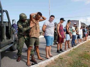Governo enviou homens do Exército ao RN Nuno Guimarães/Framephoto/Estadão Conteúdo - 30.12.2017