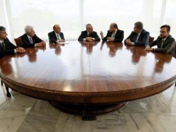 Michel Temer em reunião com ministros - Foto: Beto Barata/PR